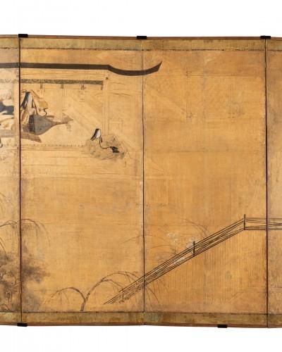 Six-fold screen, Japan Edo -