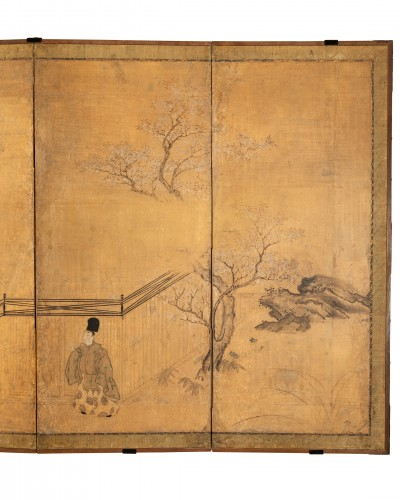 17th century - Six-fold screen, Japan Edo