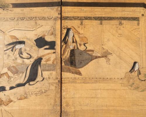 Antiquités - Six-fold screen, Japan Edo