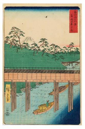 Hiroshige Ando - Ochanomizu In The Eastern Capital Woodblock Print