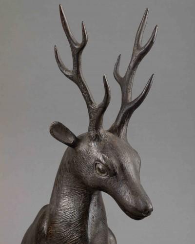 Bronze - Couple of deers -