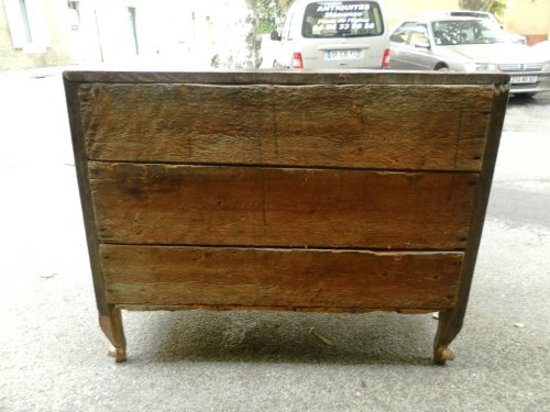 Commode scribanne 18th century Vernis Martin - Furniture Style Louis XV
