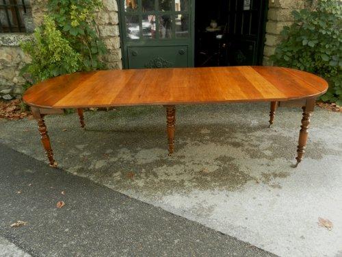 Table louis philippe antiquit s sur anticstore xixe si cle - Table de cuisine ancienne en bois ...