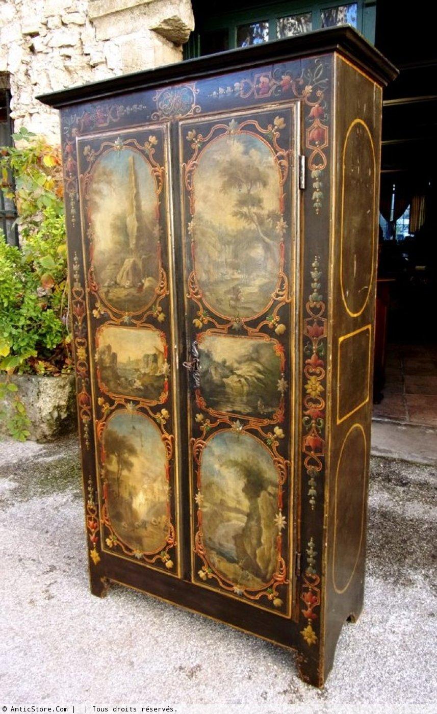 Rare 18th Century Uz 232 S Cabinet Ref 36228
