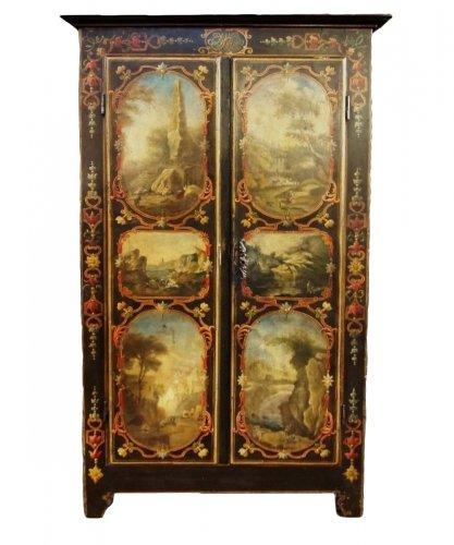 Rare 18th century uzès cabinet