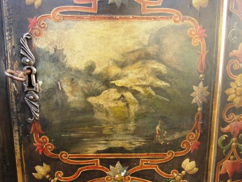 Antiquités - Rare 18th century uzès cabinet
