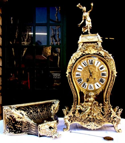 "A 19th century boulle wall cartelclock signed ""Martinot à Paris"""