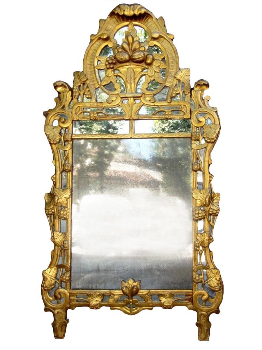 grand miroir proven al de beaucaire parecloses bois. Black Bedroom Furniture Sets. Home Design Ideas