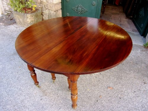 French Restauration period table in mahogany - Furniture Style Restauration - Charles X