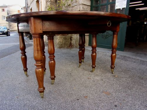 19th century - French Restauration period table in mahogany