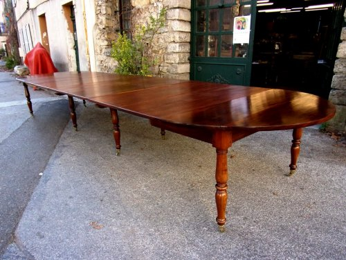 Restauration - Charles X - French Restauration period table in mahogany