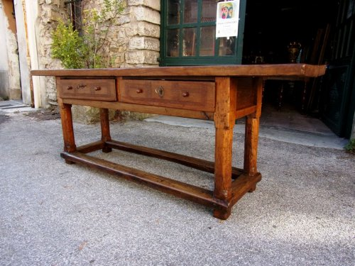 17th Century Table, - Furniture Style