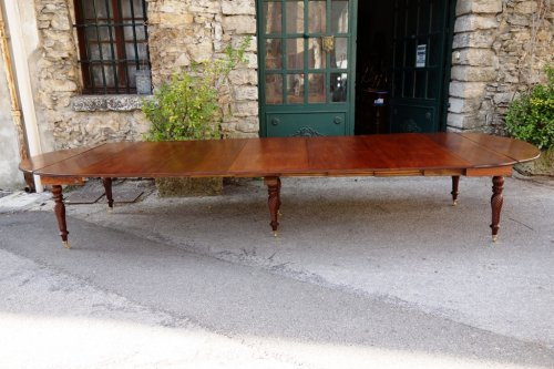 Restauration - Charles X - Restauration period french table in mahogany
