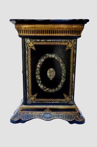 Travel Cabinet for lady - italy late 19th century  -