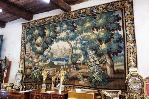 Aubusson Tapestry  - Tapestry & Carpet Style Louis XIV