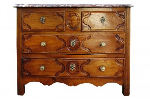 Commode parisienne stamped Fromageau, XVIIIe