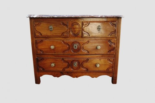 Commode parisienne stamped Fromageau, XVIIIe -