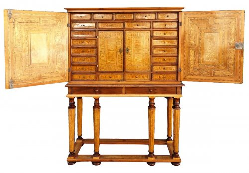 German cabinet, 17th century