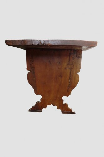 Grande Table de couvent, Italie, XVIIe -