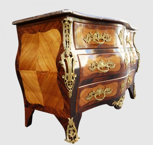 Louis XV - Commode tombeau XVIIIe