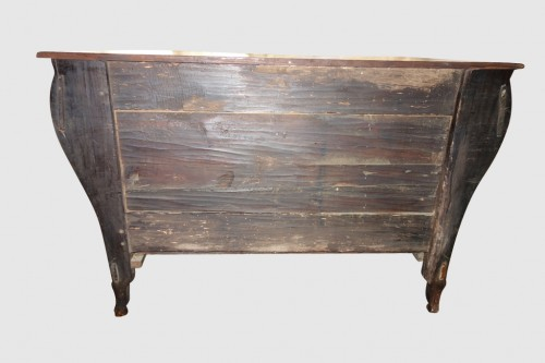 - Commode in solid cherry, work of the Southwest