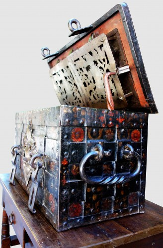 A 17th century Nuremberg chest -