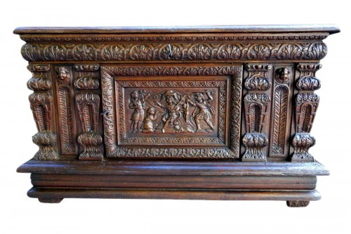 Chest of the Second Renaissance: The Judgment of Solomon