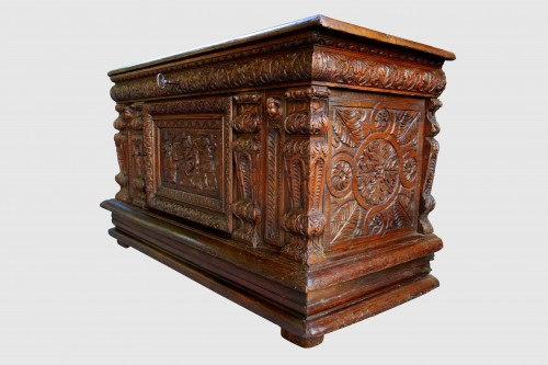 Furniture  - Chest of the Second Renaissance: The Judgment of Solomon