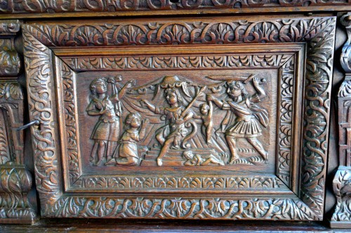 17th century - Chest of the Second Renaissance: The Judgment of Solomon