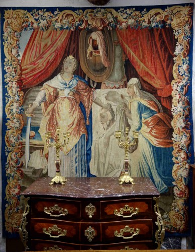 Aubusson tapestry: Judith and Holofernes, 17th century - Tapestry & Carpet Style