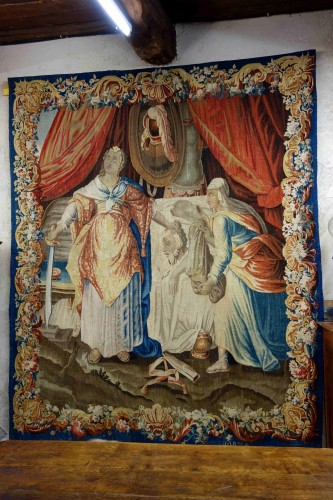 Aubusson tapestry: Judith and Holofernes, 17th century -