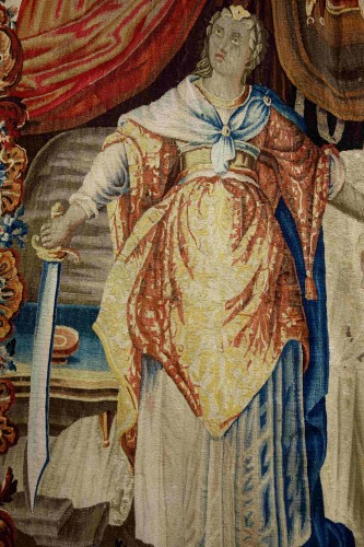 17th century - Aubusson tapestry: Judith and Holofernes, 17th century