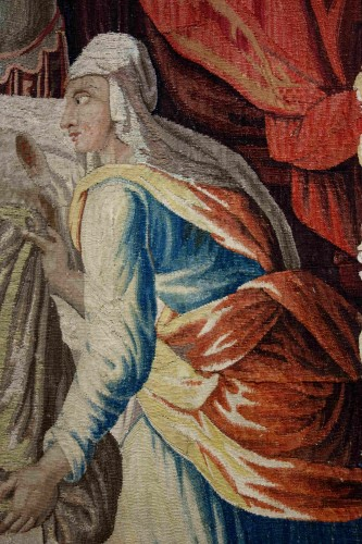 - Aubusson tapestry: Judith and Holofernes, 17th century