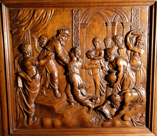 17th century - Languedoc Sumène cabinet of the seventeenth century - History of Solomon