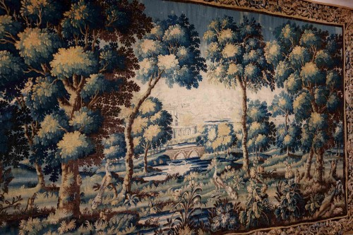 - Large Aubusson Tapestry - Verdure with peacocks, 450 cm, 18th century