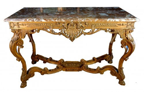 "French Regence period ""Table à gibier"""