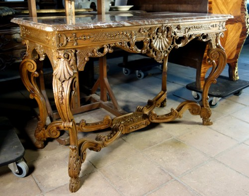 """French Regence period """"Table à gibier"""" - Furniture Style French Regence"""