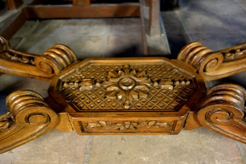 """French Regence period """"Table à gibier"""" -"""