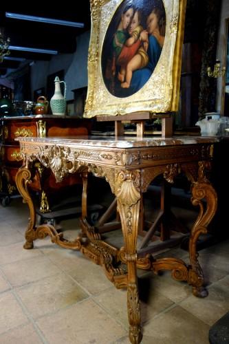 "Antiquités - French Regence period ""Table à gibier"""