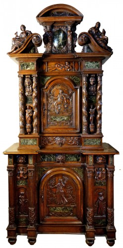 Cabinet Bellifontain attributed to Maison Ribaillier, supplier of Napoleon