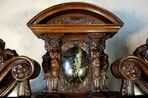 19th century -  Cabinet Bellifontain attributed to Maison Ribaillier, supplier of Napoleon
