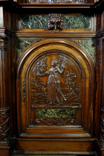 Cabinet Bellifontain attributed to Maison Ribaillier, supplier of Napoleon - Napoléon III