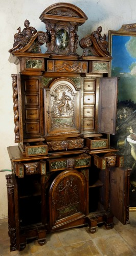 Antiquités -  Cabinet Bellifontain attributed to Maison Ribaillier, supplier of Napoleon