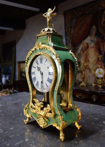 Green Horn Engagement Cartel - Horology Style Louis XV