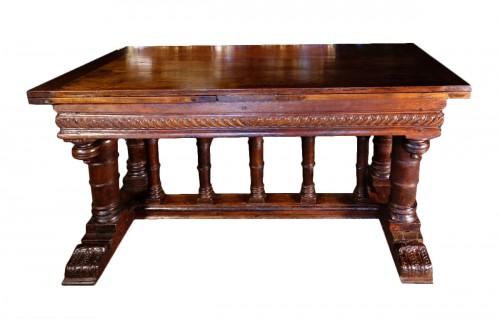 """Second Renaissance """"portico"""" table, after Jacques Androuet du Cerceau"""