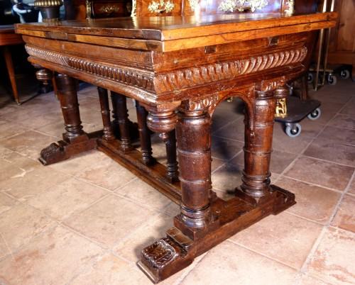 """Second Renaissance """"portico"""" table, after Jacques Androuet du Cerceau -"""