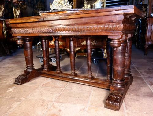 <= 16th century - Second Renaissance &quot;portico&quot; table, after Jacques Androuet du Cerceau