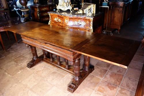 """Antiquités - Second Renaissance """"portico"""" table, after Jacques Androuet du Cerceau"""