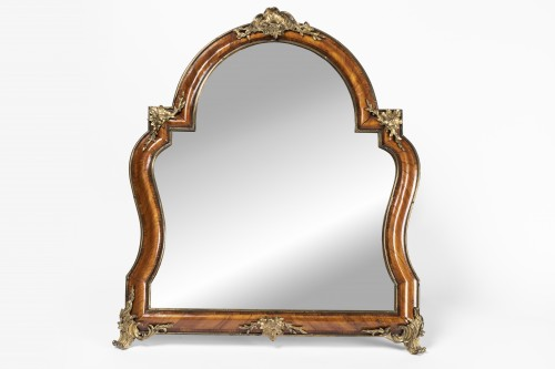 French Louis XV table mirror - Mirrors, Trumeau Style Louis XV