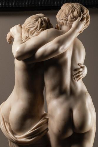Byblis and caunos, marble late XVIII Italian school -